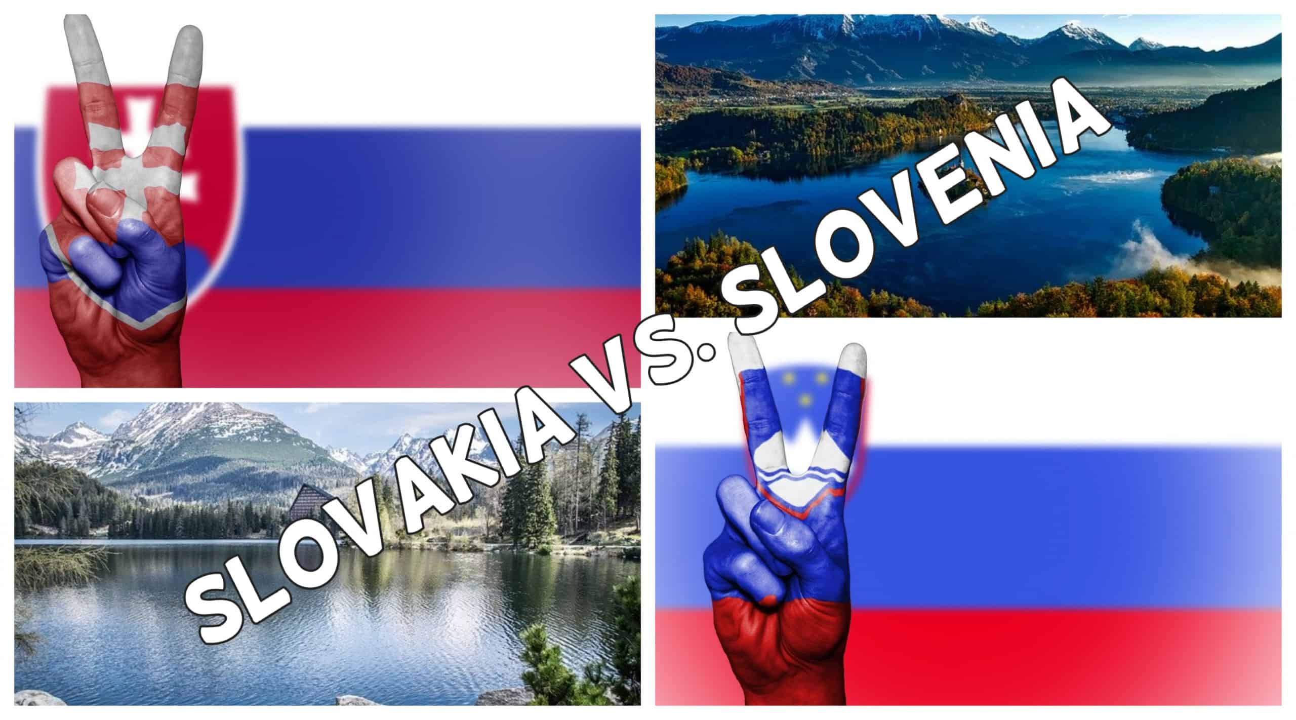Is Slovakia the Same as Slovenia