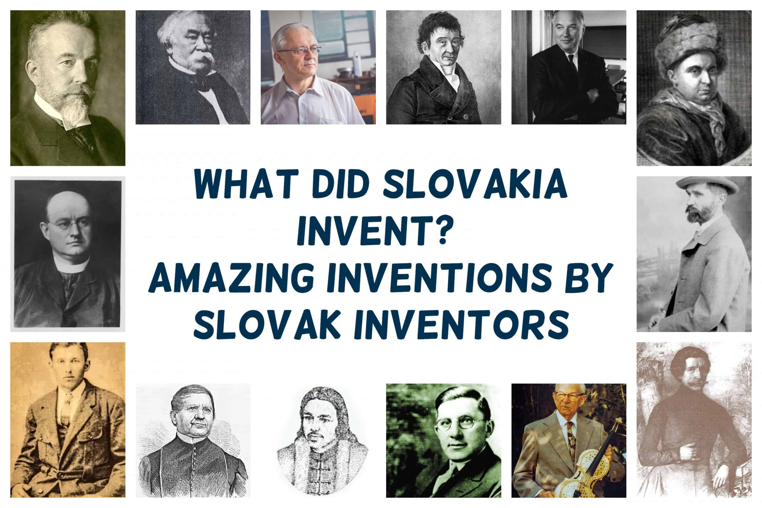 What did Slovakia Invent? 20 Inventions by Slovak Inventors